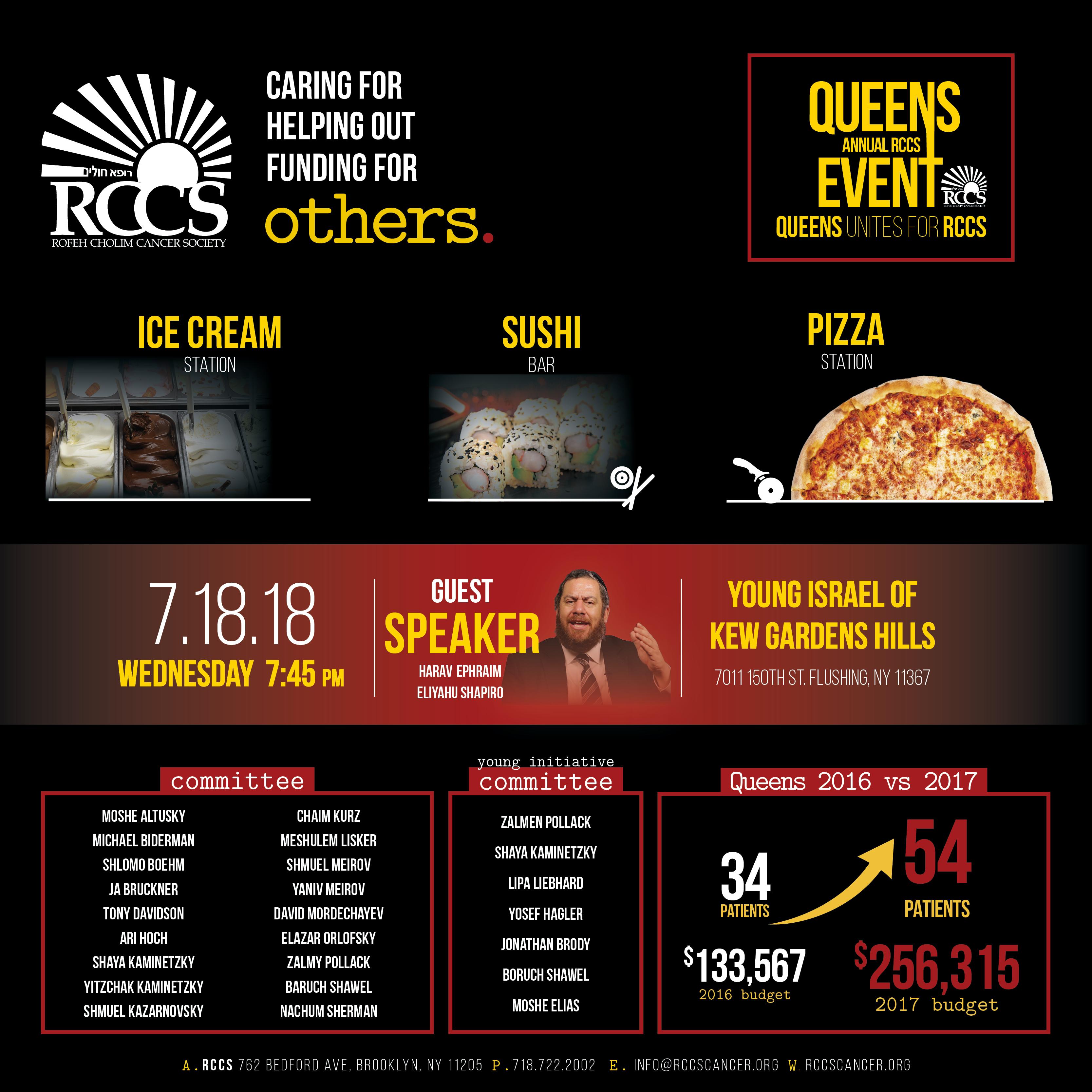 Queens Event 2018